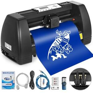 Vinyl Cutter 14 Inch Plotter Machine 350mm Paper Feed Vinyl Cutter Plotter