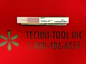 M34575 3/16 x 1 4FL TiCN CGL-4B Long Reach Ball Nose Endmill 2737887