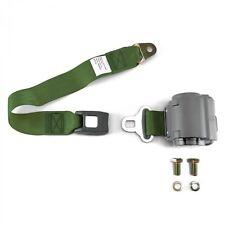 2pt Army Green Retractable Seat Belt Standard buckle - Each RSAG