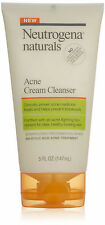 Neutrogena Naturals Acne Cream Cleanser, 5 Ounce