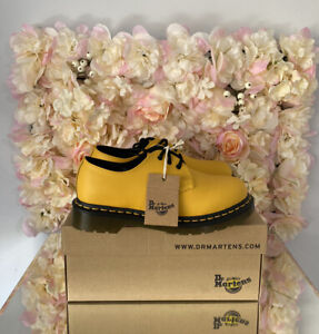 Dr Martens Leather 1461 3 Eye Shoes, UK 8, Brand New, RARE, Discontinued