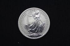 UK GB GREAT BRITAIN 1998 1OZ £2 SILVER BU UNC BRITANNIA COIN IN CAPSULE