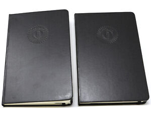 PEARL JAM MOLESKINE NOTEBOOK LOT OF 2