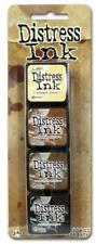 Ranger Mini Distress Ink Pad Set #03 by Tim Holtz | Set of 4 - Crafts DIY Art