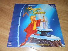 Walt Disneys The Sword In The Stone NTSC Laserdisc