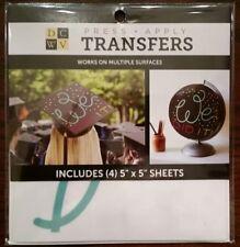 "Decal Transfer ""We Did It!"" Graduation Cap Scrapbook Wall  Wood Glass Grad NEW"