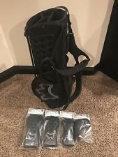 Scotty Cameron 2016 Scotty Dog Black Stand Golf Bag and 4 Matching Headcovers