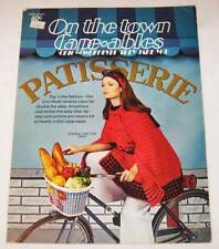 "Vintage Crochet Leaflet ""On the town Cape-ables"" Boye Needle Company 1973 Capes"