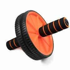 Abs Wheel Exercise Gym Roller Abdominal Core Exerciser Fitness Trainer