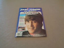 16 Magazine Presents John Lennon and The Beatles A Loving Tribute 1981 EX