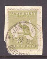 Queensland nice JANDOWAE postmark on 3d Kangaroo rated S