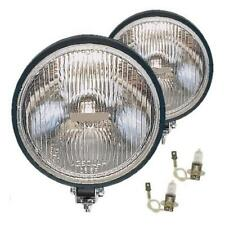 "Pair of 7.5""(19cm) x 3.5""(9cm) Driving Spot Lights Lamps H3 55W + Covers (DL6)"