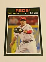 2012 Topps Archives Baseball Base Card #70 - Joey Votto - Cincinnati Reds