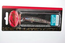 "lucky craft finesse jerkbait 80sp flash minnow  3.2"" 3/16oz aurora pro blue"
