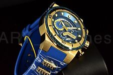 New Invicta 24224 S1 Rally Chronograph GP Blue CarbonFiber Dial Blue Strap Watch