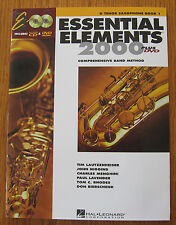 Essential Elements 2000 Bb Saxophone Plus D.V.D.
