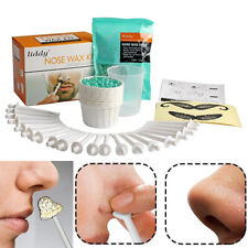 Portable Painless Nose Hair Removal Wax Set Nose Hair Wax Beans Cleaning Wax .fw