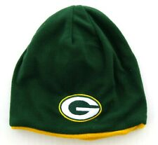 OTS Green Bay Packers Hat, NFL Youth Child Reversible Trenton Beanie Cap