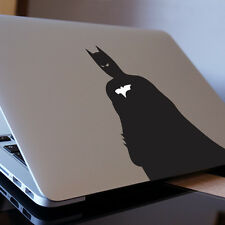 """BATMAN SIDE ANGLE Apple MacBook Decal Sticker fits 11"""" 13"""" 15"""" and 17"""" models"""