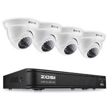 4 Security Camaras de Seguridad Sistema de Vigilancia profesional CON DISCO DURO