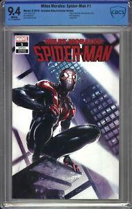Miles Morales SPIDER-MAN #1 CBCS 9.4 Crain TRADE Variant SPIDER-VERSE MOVIE