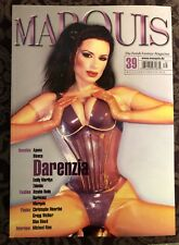 Marquis Fetish Fantasy Magazine #39 Signed Darenzia Latex Heavy Rubber