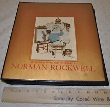 VINTAGE 1973 NORMAN ROCKWELL CHRISTMAS COLLECTION CARD ORDER BOOK  23 CARDS