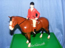 John Beswick Huntsman On Bay Horse JBH27By Limited Edition Hunting Theme
