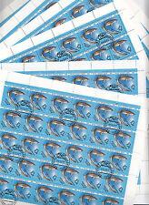 CCCP URSS 33 feuille faune de la Mer Noire requin 10 k 1991