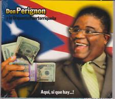 Don Perignon y La Puertorriqueña - Aqui Si Que Hay - New CD - 1217