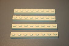 Lego Beige Brick 3008 - Pack of 4 - 1x8 pin  4708 10144 4842 8295 7194 4757 7327