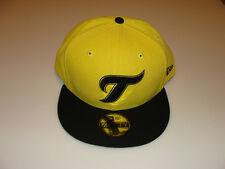 2011 Toronto Blue Jays Yellow Black Retro Custom New Era Cap Hat 7 3/8 59fifty