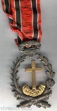 Spain Medal Isabel 2ª Order Humanitarian Santa Cross and victims 2 May 1808/68