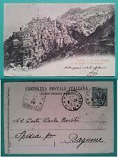 Veduta di Anticoli Corrado per la Strada di Saracinesco 1906