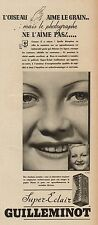 Y8660 Pellicole foto Super-Eclair GUILLEMINOT - Pubblicità d'epoca - 1936 Old ad