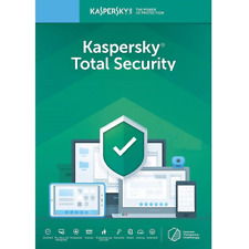 Kaspersky Total Security 2019 (1 Year / 3 Devices / 1 user account) NEW sealed
