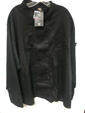 Dickies Chef Coat 8 button Womens Mens Long Sleeve Chef Jackets Dc118 Size 3X