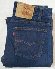Vintage Levis Jeans 505 Dark Denim Jeans 1980s USA Made 31 x 28 80s True VTG