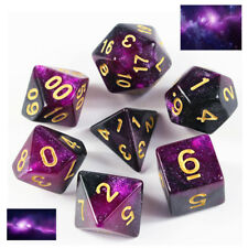 2019 Galaxy Purple & Black Dice Set