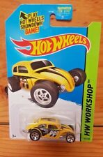 "Hot Wheels HW Workshop 2014 CUSTOM VOLKSWAGEN BEETLE ""MOONEYES"" 247/250 (A+/A)"