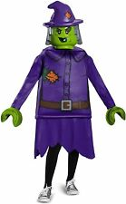 Girls Fancy Dress - Lego Deluxe Costume -The Witch  age 4-6 years RRP £32