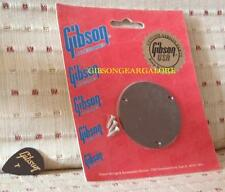 Gibson Les Paul Switch Plate Cavity Cover Brown Guitar Parts Vintage Switchplate