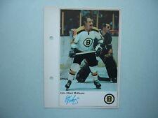 1971/72 TORONTO SUN NHL ACTION HOCKEY PHOTO JOHN MCKENZIE SHARP!! TORONTO SUN