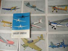 23076 Polen Samoloty Sportowe 9 Ak 1970 Sportflugzeuge Mappe polski