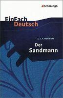 EinFach Deutsch Textausgaben: E.T.A. Hoffmann: Der Sandm... | Buch | Zustand gut