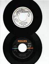 JIMMY CLANTON 45 RPM 2 PK-A LETTER TO AN ANGEL/A MILLION DRUMS-ACE/PHILIPS NM
