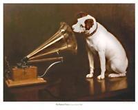 His Master's Voice, 1898 - 9 x 12 print - Victrola