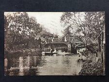 RP Vintage Postcard - Lancs #A28 - Botanic Gardens, Southport - 1918 Valentines