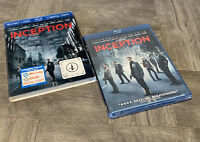 Inception (Blu-ray/DVD, 2010, 2-Disc Set) Brand New Sealed W/ Slip Cover