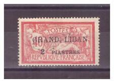 GRAND  LIBAN  N° 10 .  2  Pi SUR  40  c  OBLITERE    .SUPERBE .
